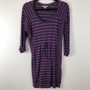 3/$20 Motherhood Maternity Striped Sweater Dress